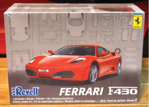 Revell Ferrari F430 Kit Sealed