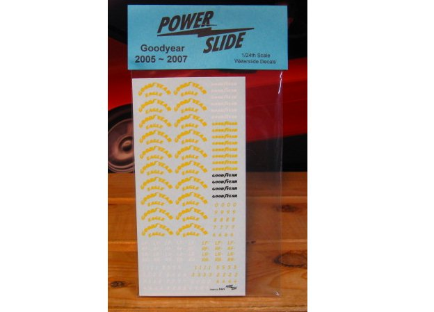Goodyear Tire Decals 2005-2007 Powerslide