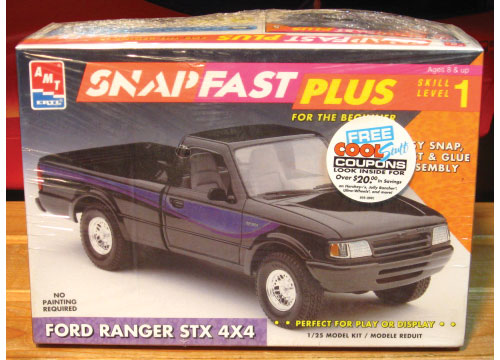 AMT Ford Ranger STX Pickup SnapFast Kit Sealed