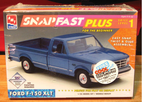 AMT Ford F-150 XLT Pickup SnapFast Kit Sealed