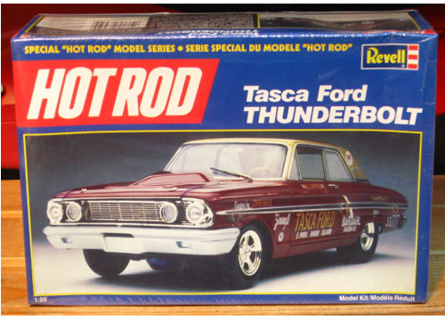 Revell Hot Rod Tasca Ford Thunderbolt Kit Complete