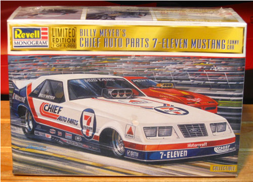 Monogram 7-Eleven 1985 Mustang Funny Car 1997 Limited Edition