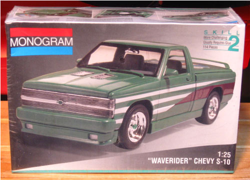 Monogram Waverider Chevy S-10 Pickup Kit Sealed