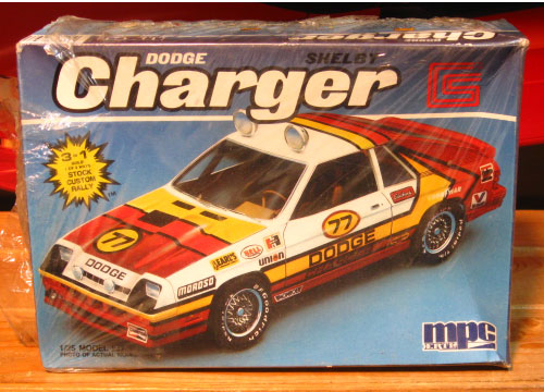 MPC Dodge Charger Shelby Omni Kit Sealed