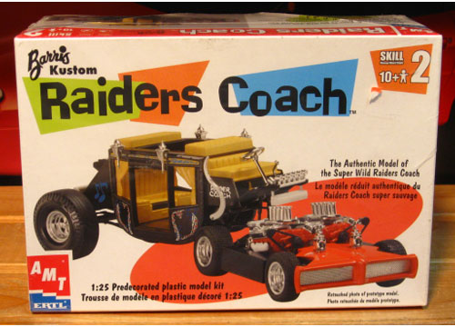 AMT Raiders Coach 2002 Issue Sealed
