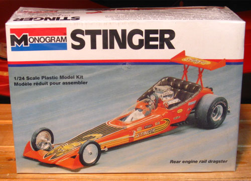 Monogram Stinger Dragster Kit 1995 Issue Sealed