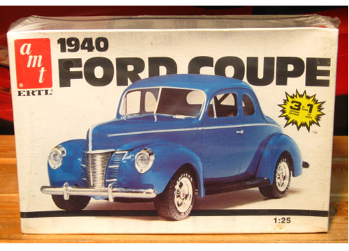 AMT 1940 Ford Coupe 1980s Issue Sealed