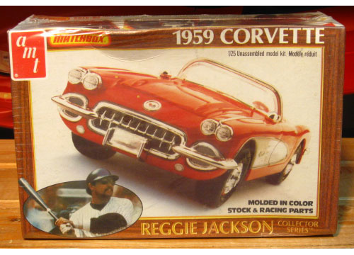 AMT Reggie Jackson Collector Series  1959 Corvette 1981 Issue Sealed