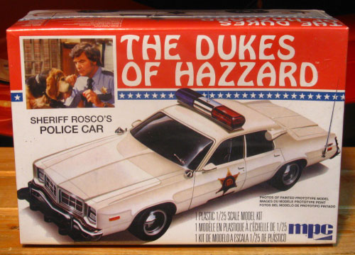 MPC Sheriff Rosco's Police Car Dukes of Hazzard Kit Sealed
