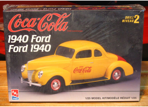 AMT 1940 Ford Coca Cola 1997 Issue Sealed