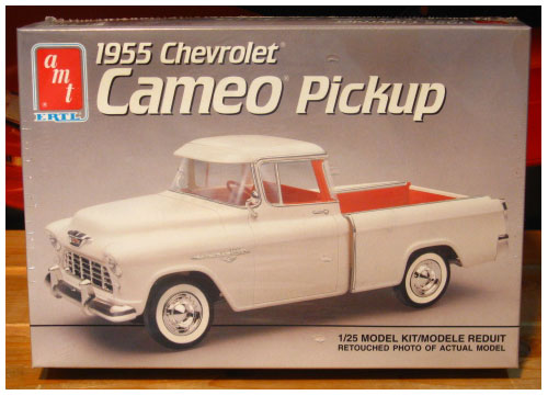 AMT 1955 Chevy Cameo Pickup Kit 1991 Issue Sealed