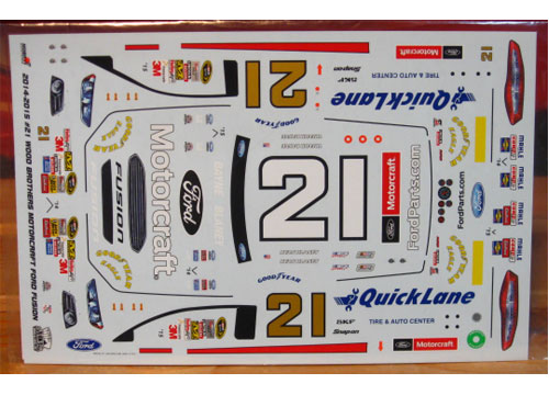 #21 Quick Lane Ford Fusion 2014-15 ACE
