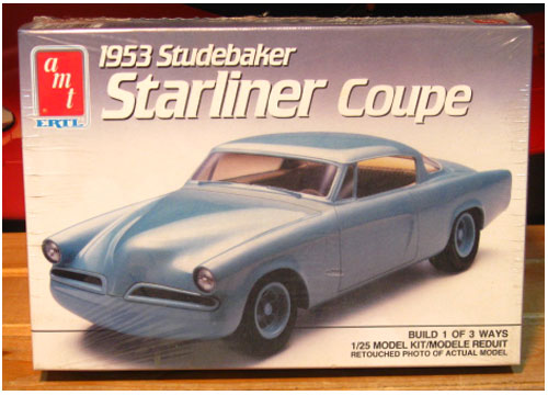 AMT 1953 Studebaker Starliner Coupe Kit Sealed