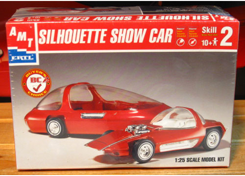 AMT Silhouette Show Car Kit Sealed