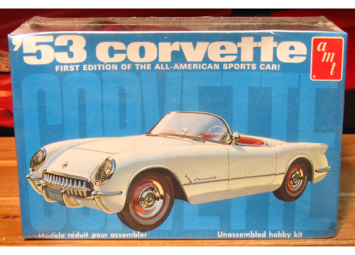 AMT 1953 Corvette 1970's Issue Sealed