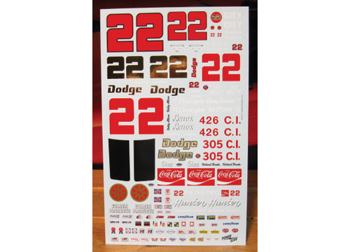 #22 Bobby Allison Dick Brooks Daytona 1969-70 Powerslide