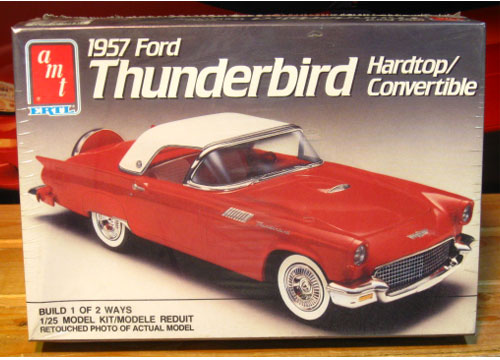 AMT 1957 Ford Thunderbird Kit 1989 Issue Sealed