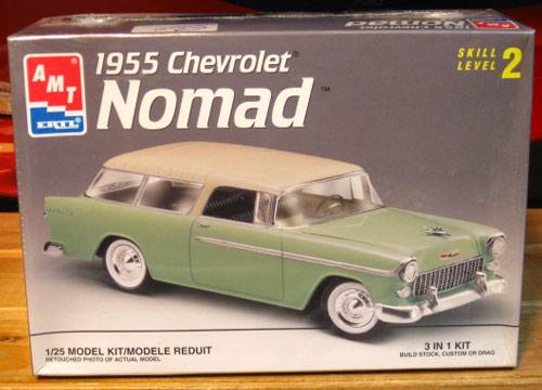 AMT 1955 Chevy Nomad Kit 1997 Issue Sealed