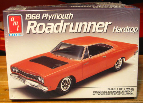 AMT 1968 Plymouth Road Runner 1989 Issue Sealed