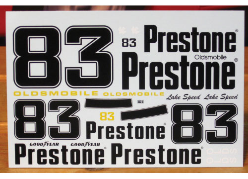 #83 Prestone Lake Speed 1990 Oldsmobile