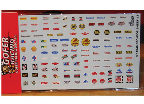 Gofer Decals #11040 Fantasy Contingencies Sponsor