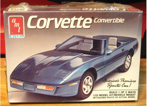 AMT 1989 Corvette Convertible Kit Sealed
