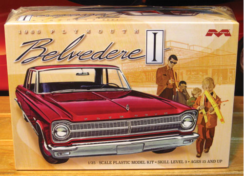 Moebius Models 1965 Plymouth Belvedere Kit Sealed