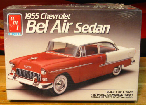 AMT 1955 Chevrolet Bel Air Kit 1989 Issue Sealed
