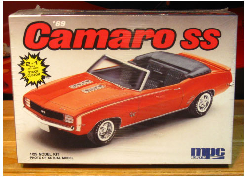 MPC 1969 Camaro SS Convertible 1988 Issue Sealed
