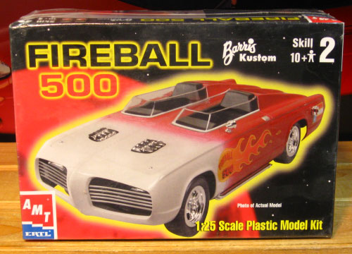 AMT Fireball 500 Barris Kustom Kit Sealed