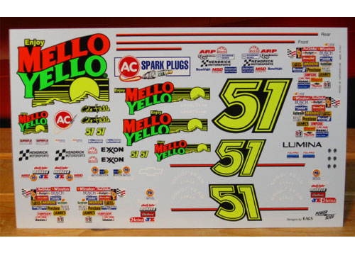 #51 Mello Yello Days of Thunder Powerslide