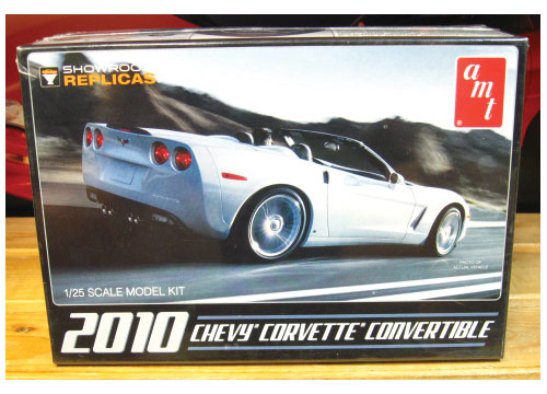 AMT 2010 Corvette Convertible Kit Sealed