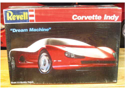 "Revell Corvette Indy ""Dream Machine"" 1989 Issue Sealed"