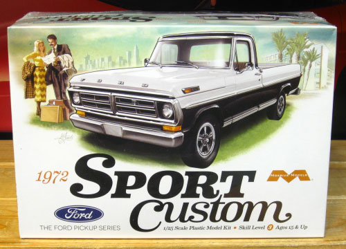 Moebius Models 1972 Ford Sport Custom Pickup Kit Sealed