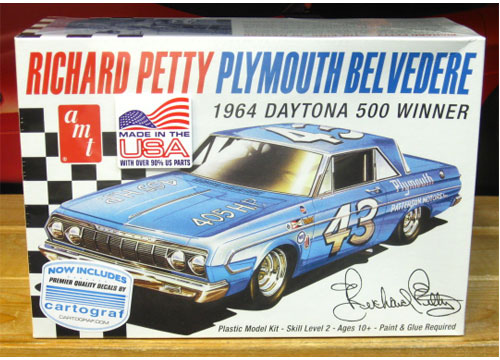 #43 Richard Petty 1964 Belvedere Kit 2016 Issue Sealed