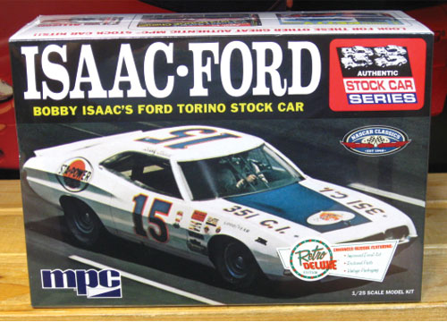 #15 Isaac Ford Torino MPC Kit Factory Sealed NEW!