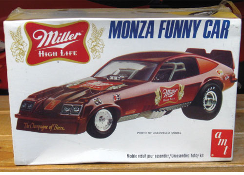 AMT Miller Monza Funny Car Original 1970s Issue Kit Sealed