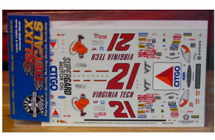 #21 Virginia Tech Elliott Sadler 2000 Slixx