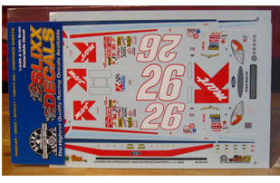 #26 K-Mart Jimmy Spencer 2001 Slixx
