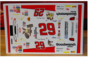 #29 Taz on a Roll Kevin Harvick A-Star
