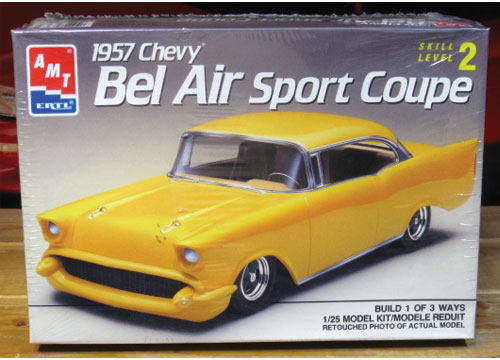 AMT 1957 Chevy Bel Air Sport Coupe 3'n 1 Sealed