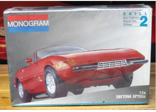 Monogram Daytona Spyder Kit Sealed