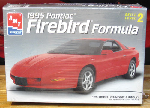 AMT 1995 Pontiac Firebird Formula Kit Sealed