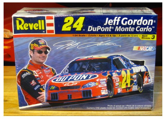 #24 DuPont Jeff Gordon 2002 Monte Carlo Revell Kit Sealed
