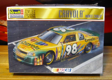 #98 Crayola 1998 Monte Carlo Kit Sealed