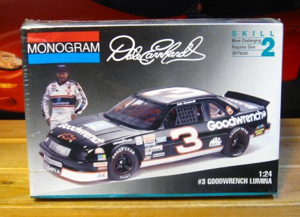# 3 Goodwrench Dale Earnhardt 1993 Lumina Monogram Kit