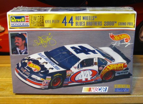 #44 Blues Brothers 2000 Kyle Petty Revell Kit Sealed