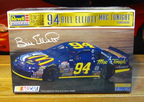 #94 Mac Tonight Bill Elliott 1997 Revell Kit Sealed