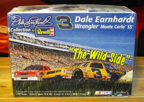 "# 3 Wrangler Dale Earnhardt 1987 ""Pass in the Grass"" Kit Sealed"
