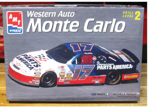 #17 Western Auto Darrell Waltrip 1996 Monte Carlo AMT Kit Sealed